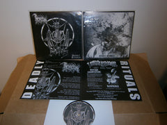 "THRONEUM / LORD BLASPHEMER - Deadly Rituals. 7"" Split EP Vinyl"