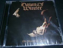 DAWN OF WINTER - The Peaceful Dead. CD