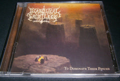 DIABOLICAL SACRILEGE - To Dominate Their Psyche. CD