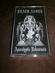 BLACK ANGEL - Apocalyptic Rehearsals. Tape