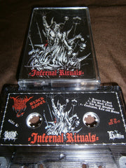 BLACK ANGEL / EVIL - Infernal Rituals. Split Tape