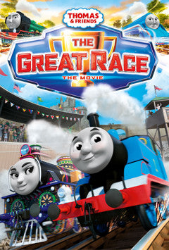 Thomas and Friends - The Great Race Movie Ticket Competition