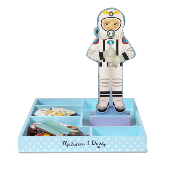 Melissa & Doug - Julia Magnetic Dress-up - Toot Toot Toys