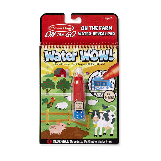 Melissa & Doug – On the Go - Water WOW! - On the Farm - Toot Toot Toys