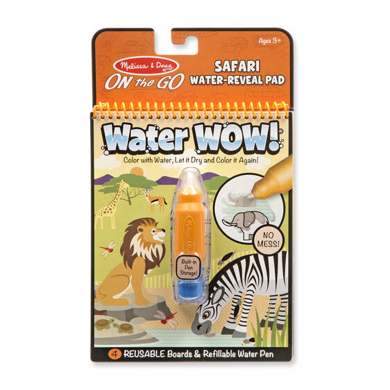Melissa & Doug – On the Go - Water WOW! - Safari - Toot Toot Toys