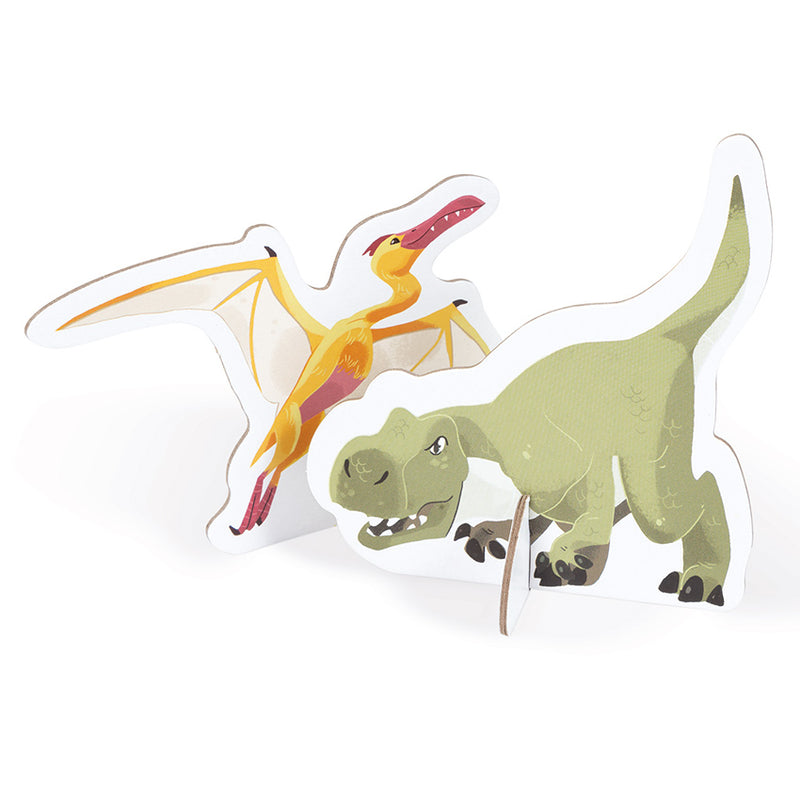 Janod - Educational Dinosaur Puzzle