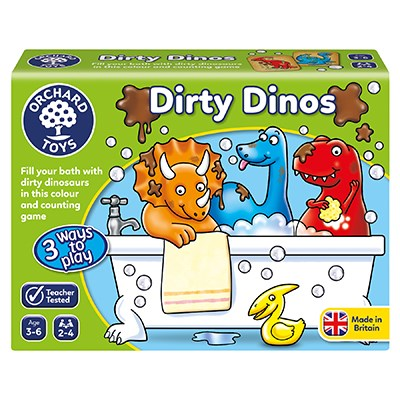 Orchard Toys – Dirty Dino - Toot Toot Toys