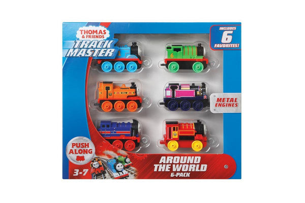 Trackmaster Push Along - Around the World 6-Pack