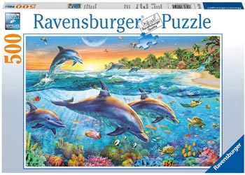Ravensburger - Dolphin Cove Puzzle 500 pieces