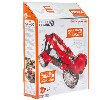 Hexbug - Vex Robotics Gear Racer Pull back car