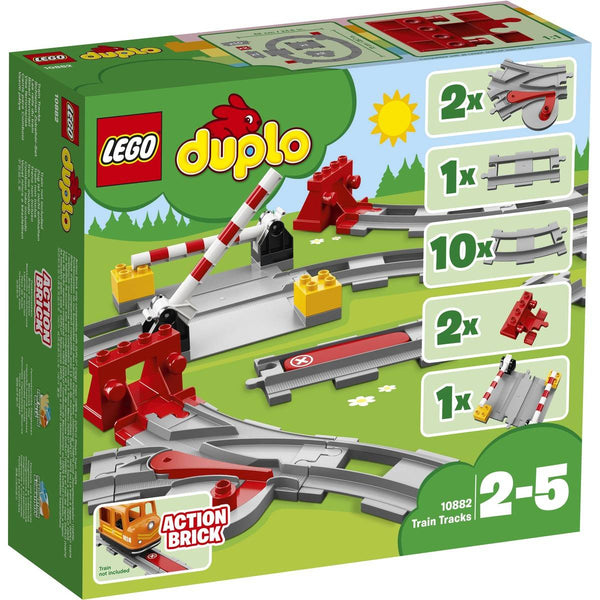 LEGO® DUPLO® - Train Tracks (10882) - Toot Toot Toys