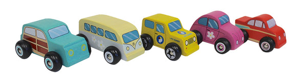 Discoveroo - Beach Car Set (Set of 5)