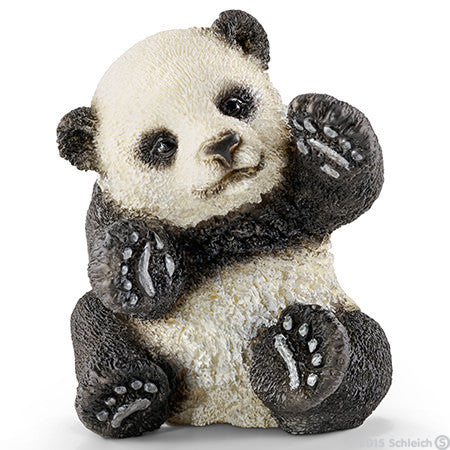 Schleich - Panda Cub Playing - Toot Toot Toys