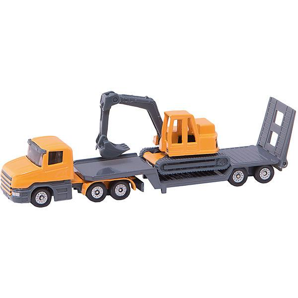 Siku - Low Loader with Excavator (1611)