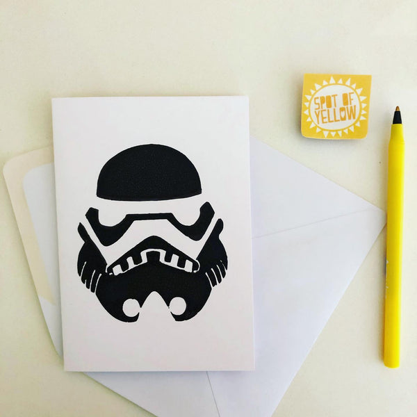 Birthday Card - Storm Trooper