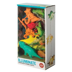 IS GIFT - Illuminate String Lights - Dinosaurs