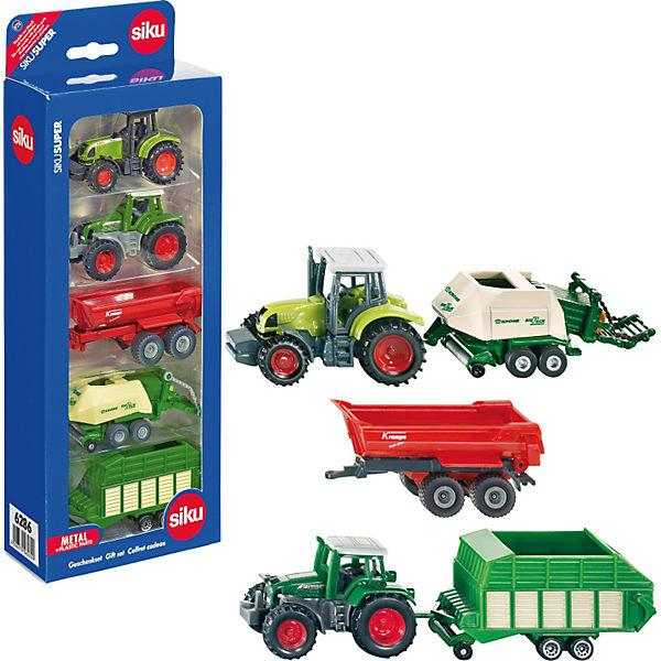 Siku - Gift Set Farm Tractors and Trailers (6286)