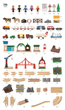 BRIO - Railway World Deluxe Set (33766)