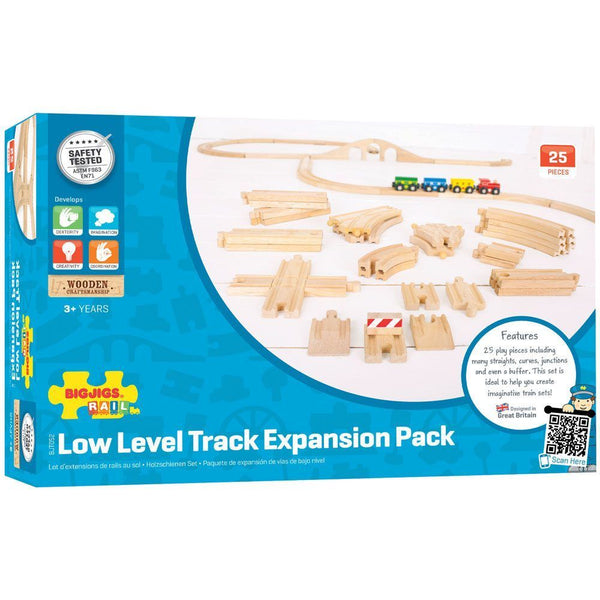 Bigjigs - Low Level Track Expansion Pack