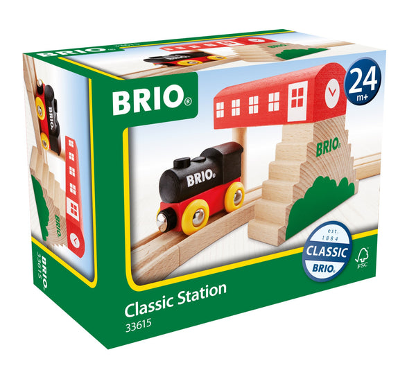 BRIO - Classic Station (33615) - Toot Toot Toys
