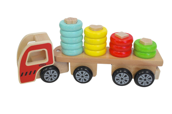 Discoveroo - Sort n Stack Truck - Toot Toot Toys