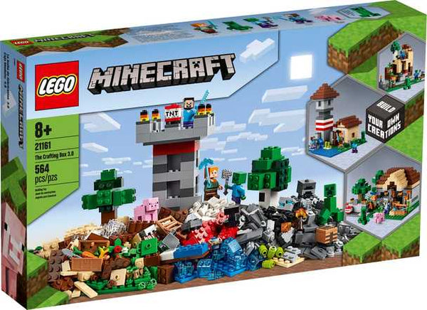 LEGO® Minecraft - The Crafting Box 3.0 (21161)