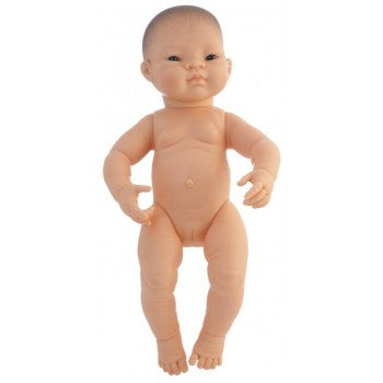 Miniland - Baby Doll - Asian - Girl (32cm Undressed)