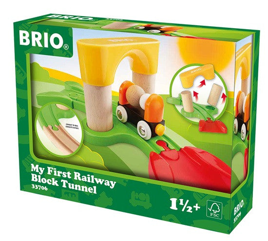 BRIO - My First Railway Block Tunnel (33706) - Toot Toot Toys