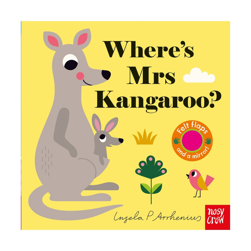 Where's Mrs Kangaroo? Felt Flaps