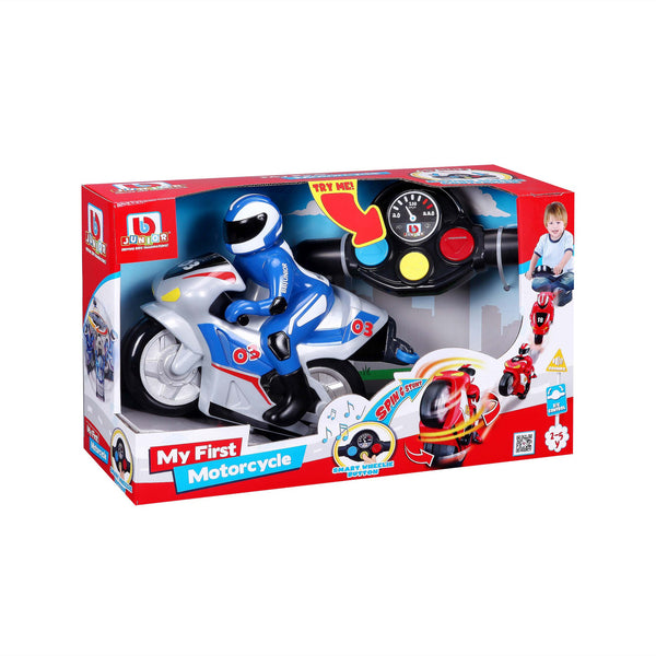 BBJunior - My First Radio Control Motor Bike - Spin & Stunt
