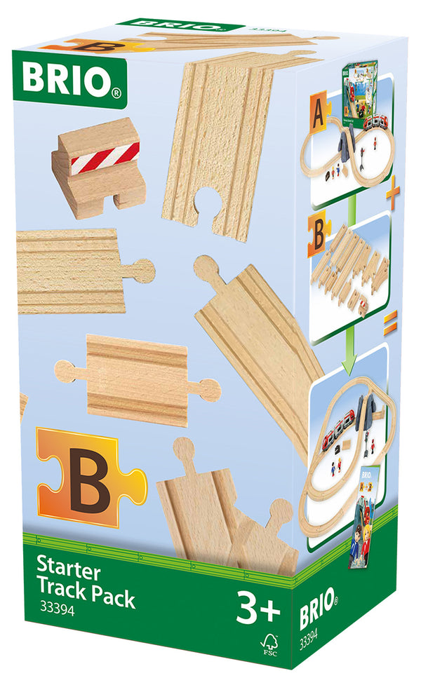 BRIO - Starter Track Pack (Set B) (33394) - Toot Toot Toys