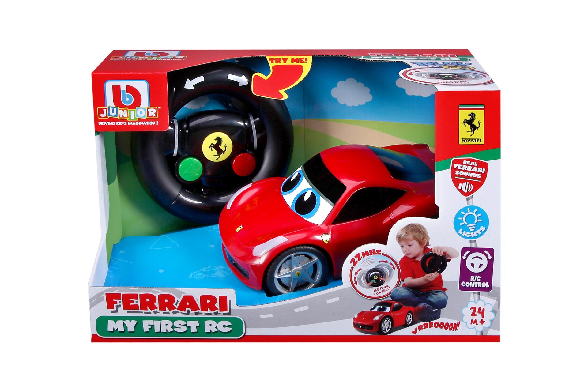 BBJunior - Ferrari My First Race Car 458 Italia