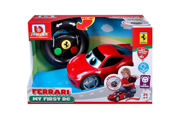 BBJunior - Ferrari My First Race Car 458 Italia - Toot Toot Toys