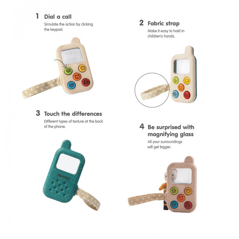 Plan Toys - My First Phone - Toot Toot Toys