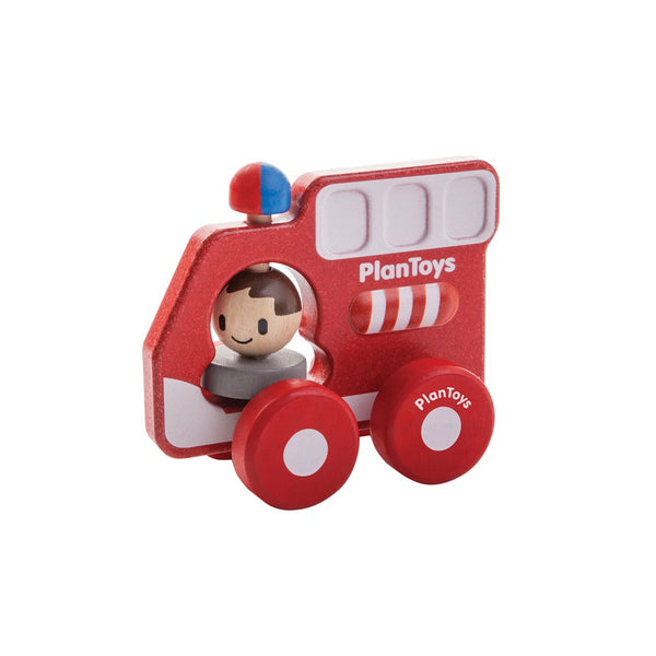 Plan Toys - Fire Truck - Toot Toot Toys
