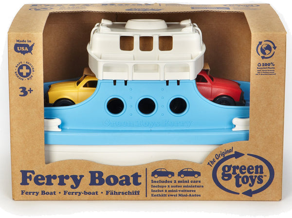 Green Toys - Ferry Boat with 2 Mini Cars