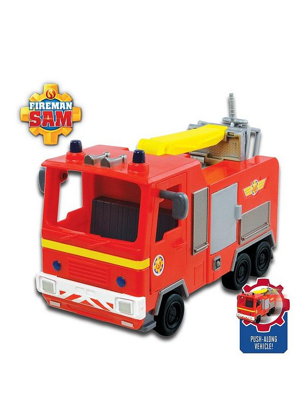 Fireman Sam Vehicle - Jupiter - Toot Toot Toys