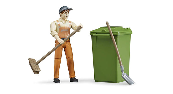 Bruder World Figure-Set Waste Disposal (62140) - Toot Toot Toys