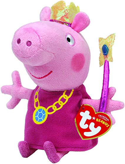 Beanie Boos - Peppa Pig Princess (Regular)