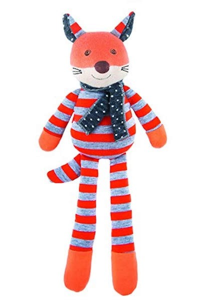 Organic Farm Buddies - Plush Toy Frenchy Fox - Toot Toot Toys