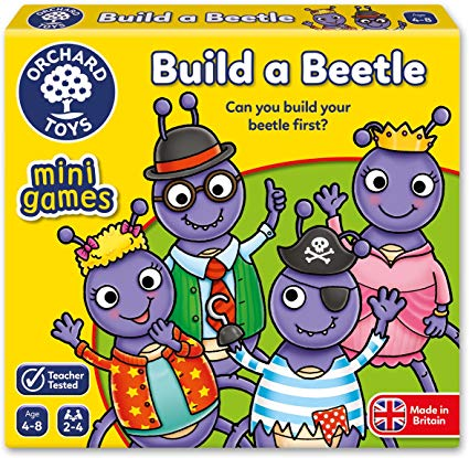 Orchard Toys - Mini Games - Build a Beetle