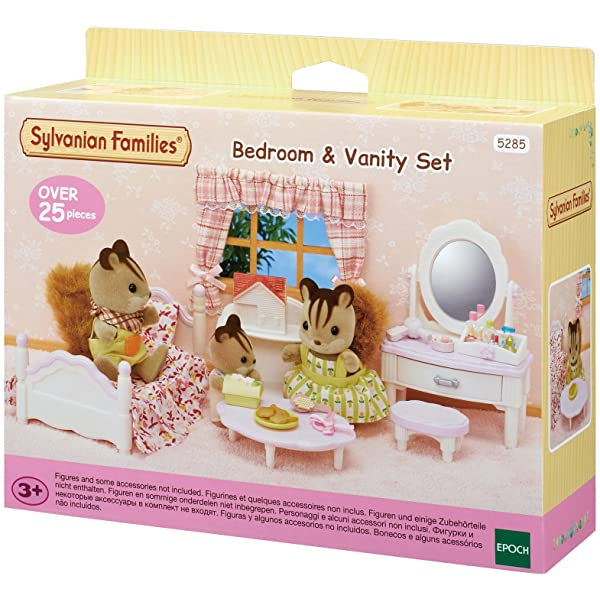 Sylvanian Families - Bedroom & Vanity Set