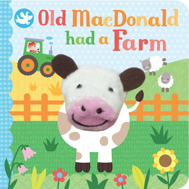 Little Me Finger Puppet Book - Old Macdonald Had a Farm - Toot Toot Toys
