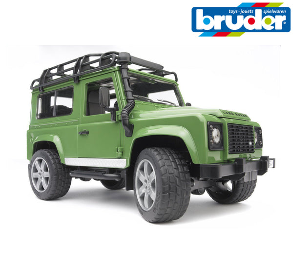 Bruder - Land Rover Defender Station Wagon (02590) - Toot Toot Toys