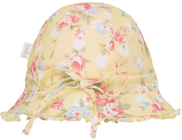 Toshi Bell Hat -  Pretty Meadow Buttercup