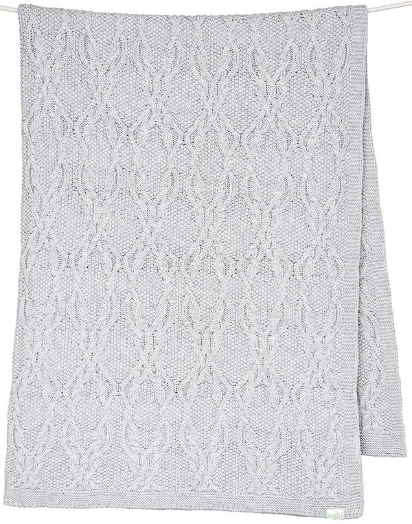 Toshi Organic Blanket -  Bowie Dove