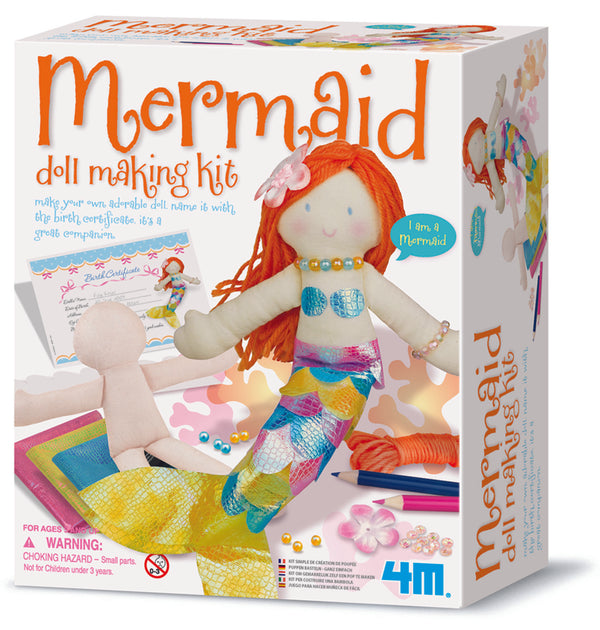 4M - Mermaid Doll Making Kit - Toot Toot Toys