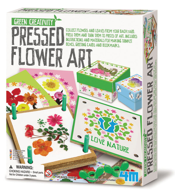 4M - Pressed Flower Art - Toot Toot Toys