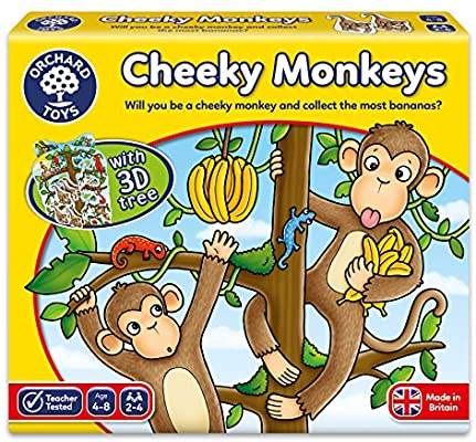 Orchard Toys - Cheeky Monkey