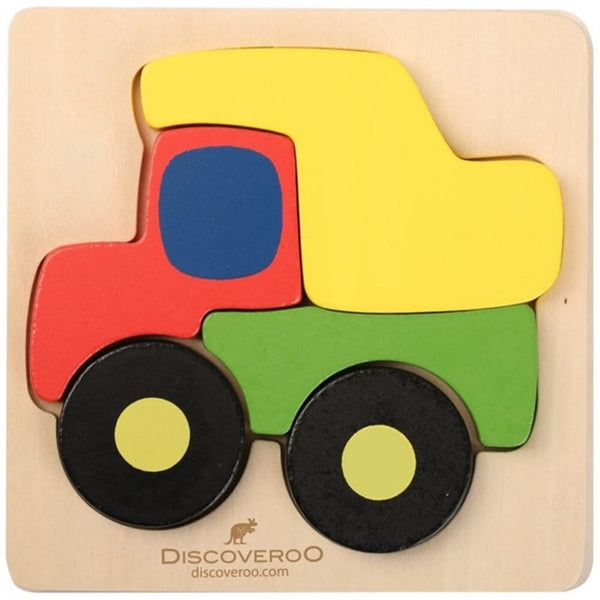 Discoveroo - Chunky Puzzle - Truck